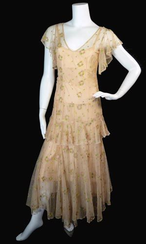 1930's fashion | ... vintage dress from the estate of 1930 s vintage clothing we were