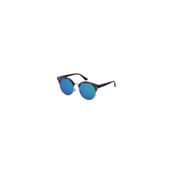 New Arrived Sunglasses,Latest Sunglasses at SheIn.com ❤ liked on Polyvore featuring accessories, eyewear and sunglasses