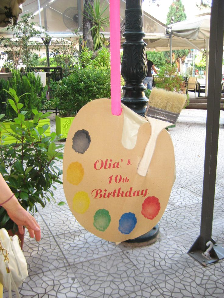 #handmade_by_adni handmade art pallet piniata