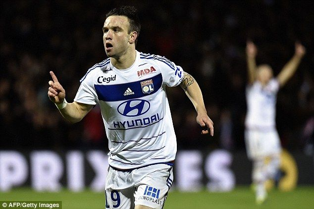 Mathieu Valbuena admits he had a 's*** season' but is working hard to get back into Lyon team