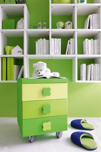 Contemporary Kids Bedroom Furniture Green Ikea Bookcases M Intended Inspiration Decorating