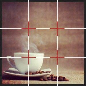 regel van derden food fotografietips