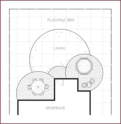 1000 images about landscape plan on pinterest gardens for Grid landscape design