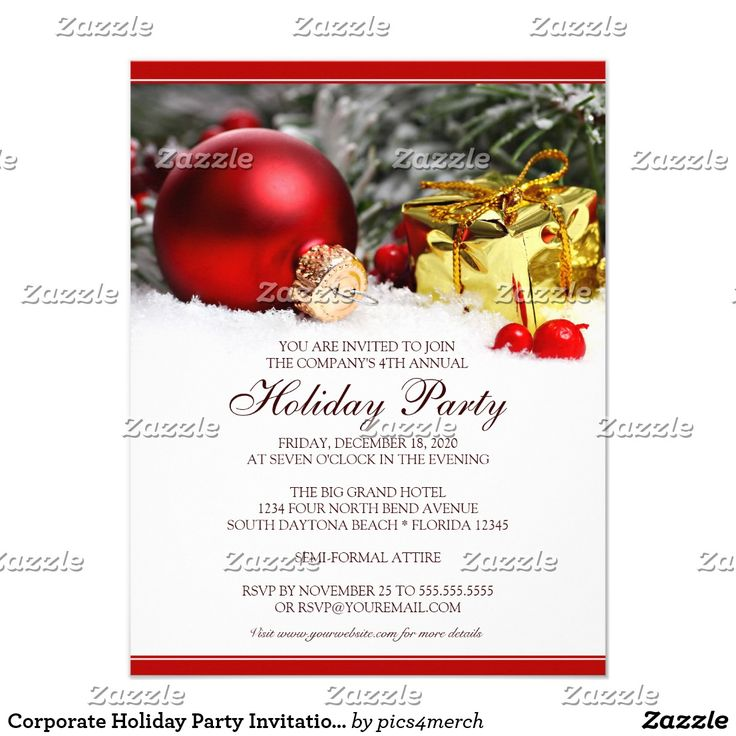 Más de 25 ideas increíbles sobre Holiday party invitation template ...