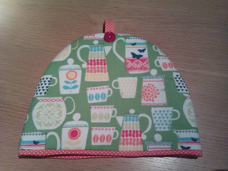 Michael Miller fabric tea cosy