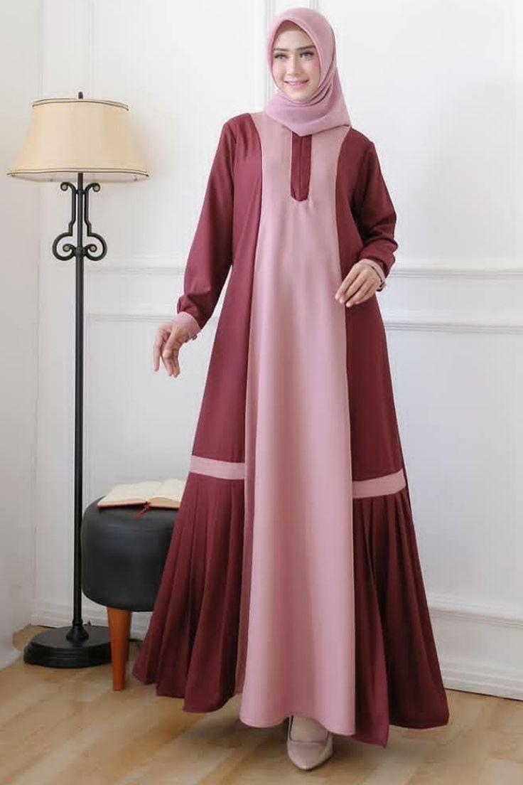 Model Baju Gamis Sederhana Tapi Mewah