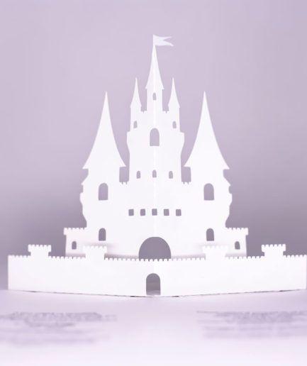 Invitatie-3D-Castel 3D Castle invitation