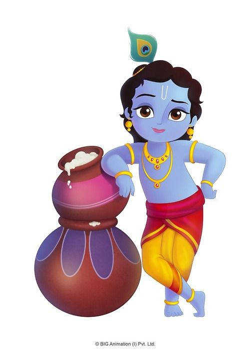 Cartoon Characters Krishna : Best images about existing hindu characters for kids on