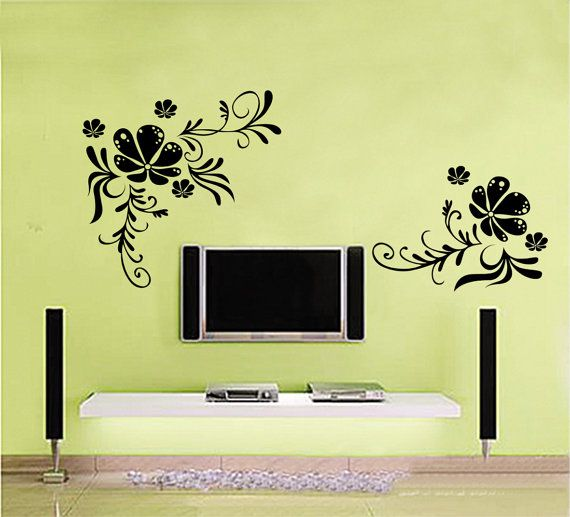 Living Room Wall Decals 137 best wall stickers images on pinterest | wall stickers, tree