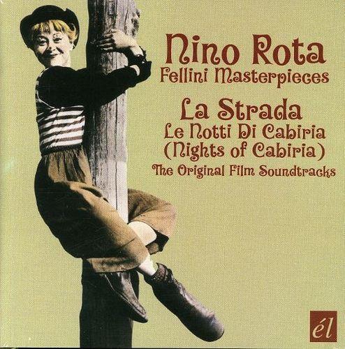 Nino Rota/Fellini Masterpieces: La Strada/Le Notti di Cabiria [Original Film Soundtracks] [CD]