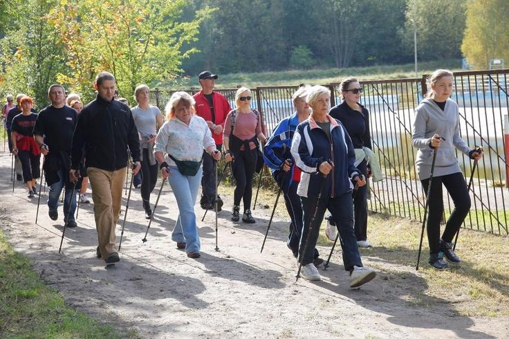 Otwarcie szlaku nordic walking z Kronopolem  http://kronopol.pl/