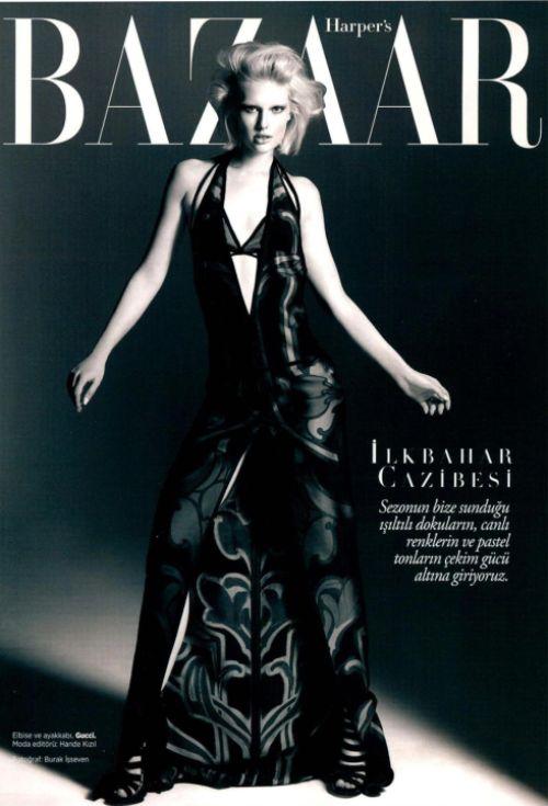 Gucci Cover - Harper's Bazaar Turkey, May 2014