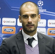 'Pep' Guardiola .. in case you didn't know.