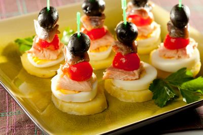 Koreczki z anchois