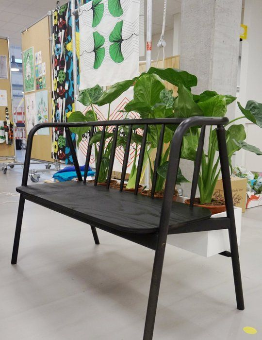 "Bench ANVÄNDBAR ""built-in flowerpot"" / Sneak Peek at IKEA's Upcoming 2015 & 2016 Collections."