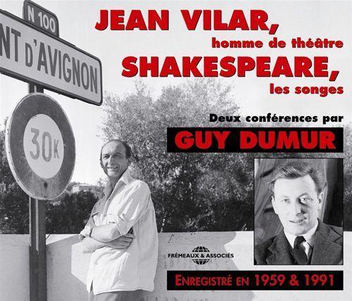 Jean Vilar/Shakespeare, Les Songs: 2 Conference [CD]