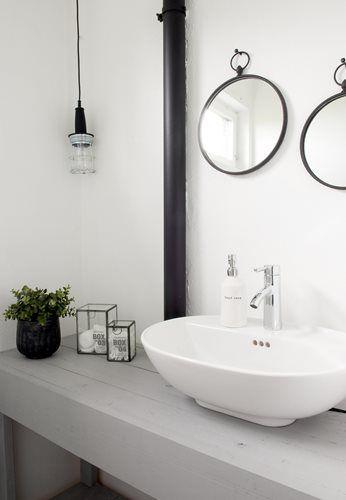 #interior #decor #styling #bathroom #scandinavian #white