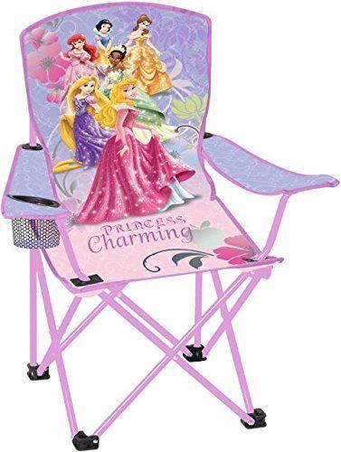 Kidsu0027 Folding Chairs   Disney Princess Youth Folding Armchair Patio Chair  *** More