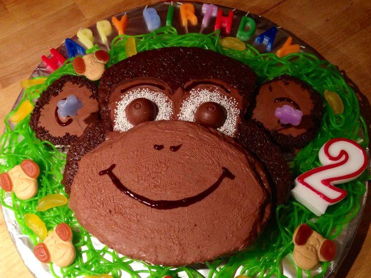 Affenkuchen - monkey cake