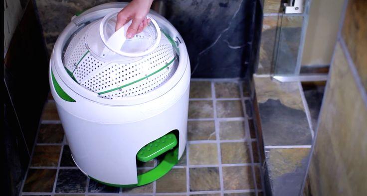 Vernuftige stroomloze wasmachine is een must-have voor echte kampeerders