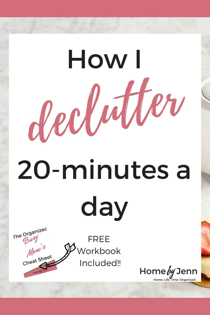 how i declutter my home 20 minutes a day - How Do I Declutter My House