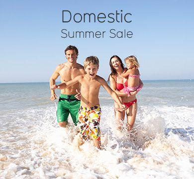 Domestic Summer Sale