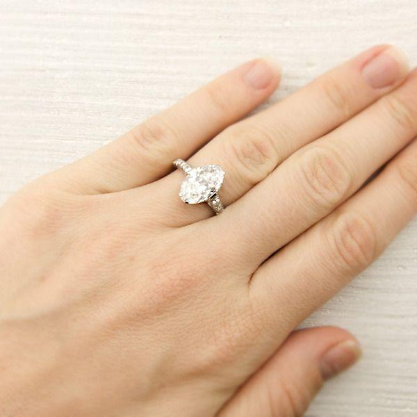 Hidden Engagement Ring In Neck