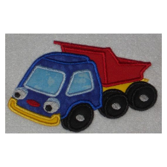 Football Toy Trucks : Best images about embroidery applique boys on pinterest