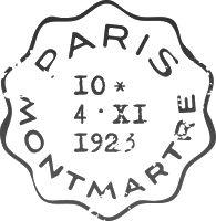 Timbri e Francobolli per Scrapbooking - Vintage Stamps Set for Scrapbooking - Part II