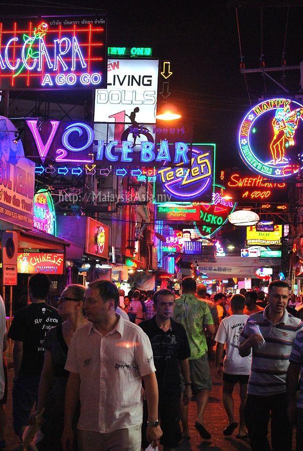 Walking Street, Pattaya, Thailand. #nightlife #royalcaribbean