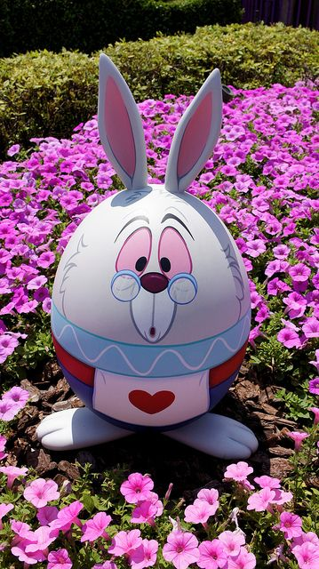 Easter view in Tokyo Disneyland by Dloves.funi2, via Flickr