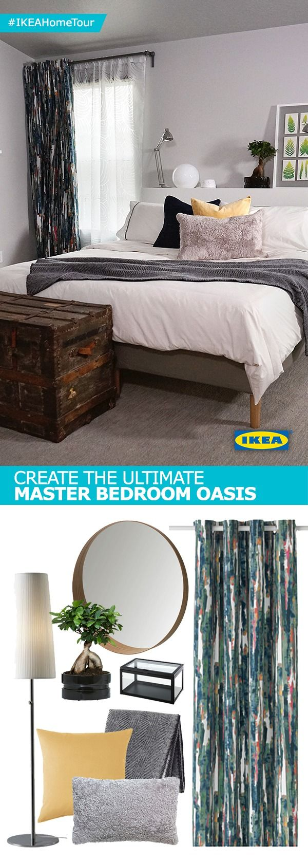Find Inspiration For Your Own Master Bedroom Oasis From The IKEA Home Tour Squads Latest Makeover