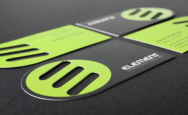 Element Construction - Business Card