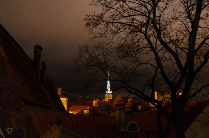 Pimedas Tallinnas - City Photography, Photography of Tallin
