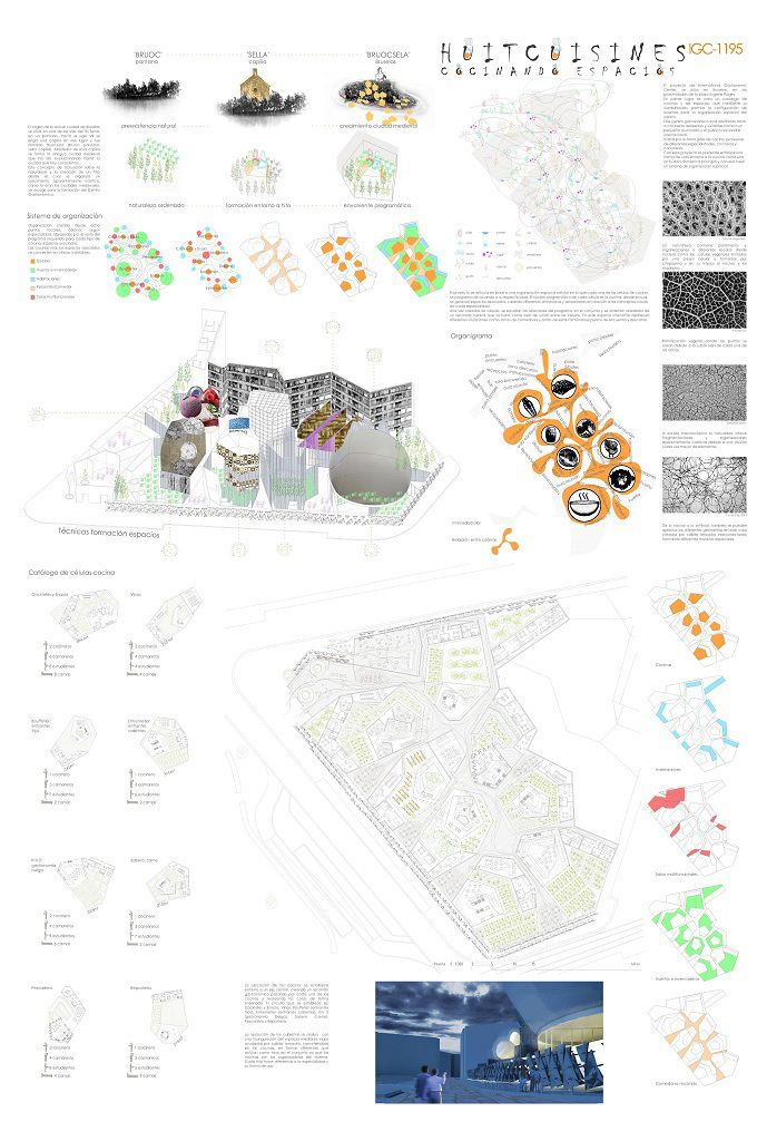 Three winners were selected for the 2013 International Gastronomic Center Brussels competition hosted by Arquideas