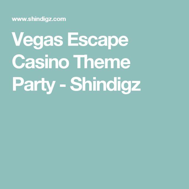 Vegas Escape Casino Theme Party - Shindigz