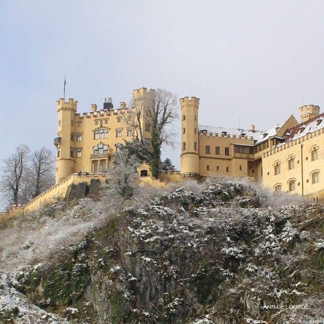Schloss Hohenschwangau, Wednesday, 15th November 2017, Hohenschwangau, Bayern, Deutschland.