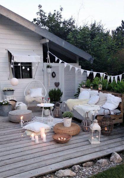 Upcycling: 8 Gartenmöbel aus Paletten selber machen