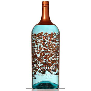 Surrey-based Silent Pool Distillers has created what is thought to be the world's largest and most expensive bottle of gin, costing £5,000. It has been hand-painted by artist Laura Barrett and contains the 24-botanical Silent Pool Gin.