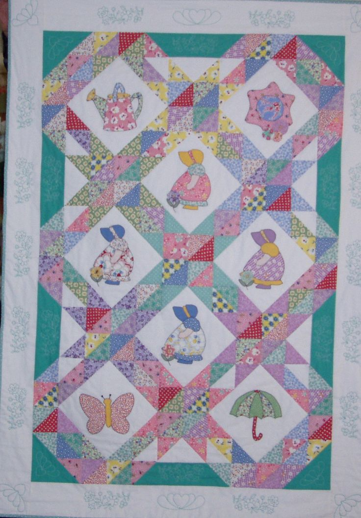 Sun Bonnet Sue Quilt Patterns Free Sunbonnet Sue