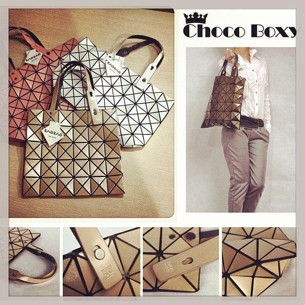 Bao bao by issey premium champagne 33x33 non zipper #baobaobag #premiumbag #chocoboxy