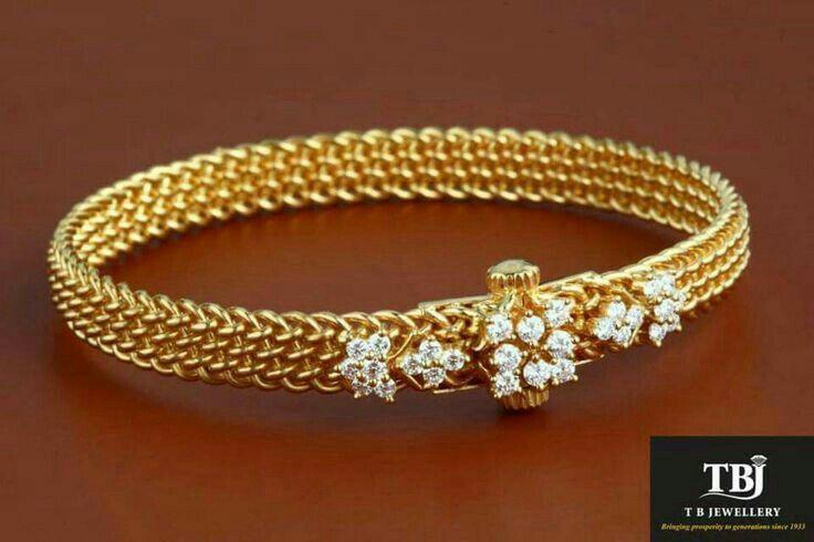Diamond hook thoda bangle