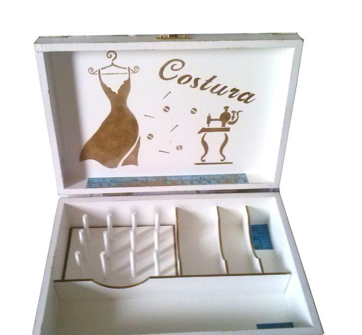 Caixa para costura Vintage 2 | Bragatto Atelier | Elo7