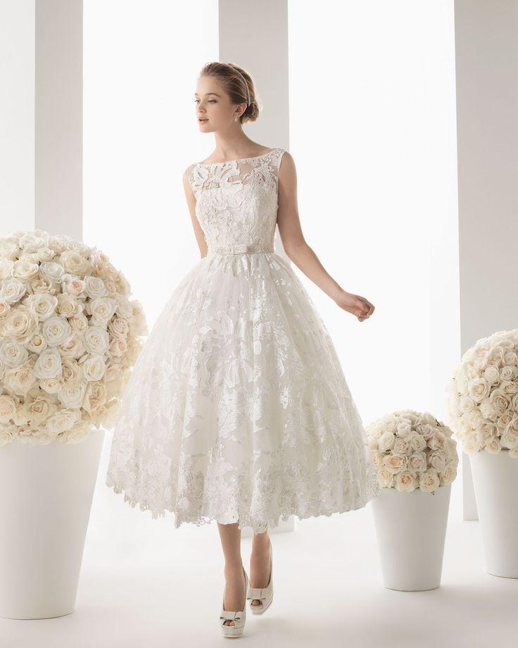 20 besten Tea Lenght Wedding Dress Bilder auf Pinterest ...