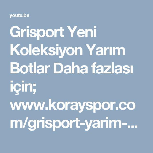 """Grisport Yeni Koleksiyon Yarım Botlar  Daha fazlası için;  www.korayspor.com/grisport-yarim-bot/ """"Korayspor.com da satışa sunulan tüm markalar ve ürünler %100 Orjinaldir, Korayspor bu markaların yetkili Satıcısıdır.  Koray Spor Spor Malz. San. Tic. Ltd. Şti."""""""