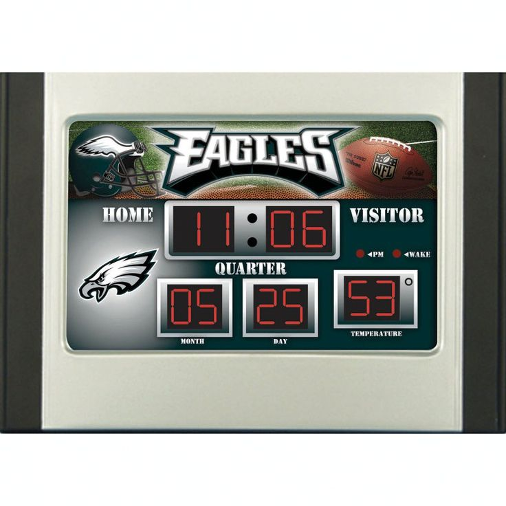 Team Sports America NFL Scoreboard Desk Clock - 01288