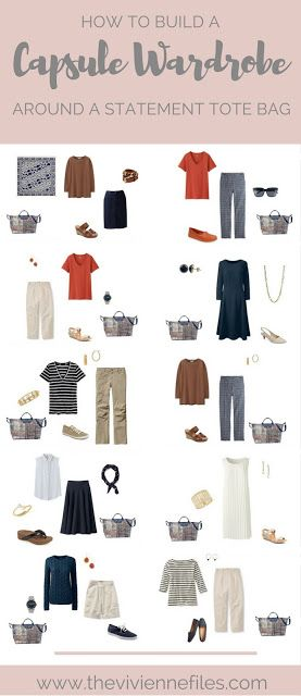 How to Build a Capsule Wardrobe Around a Statement Tote Bag