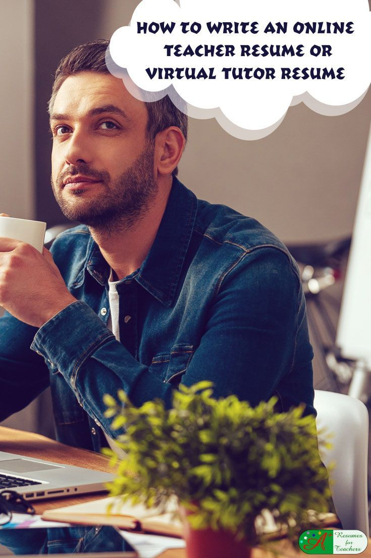 How to Write an Online Teacher Resume