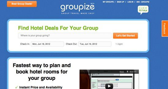 Will group-travel booking ever get there? Groupize hopes TravelClick pact will be a start