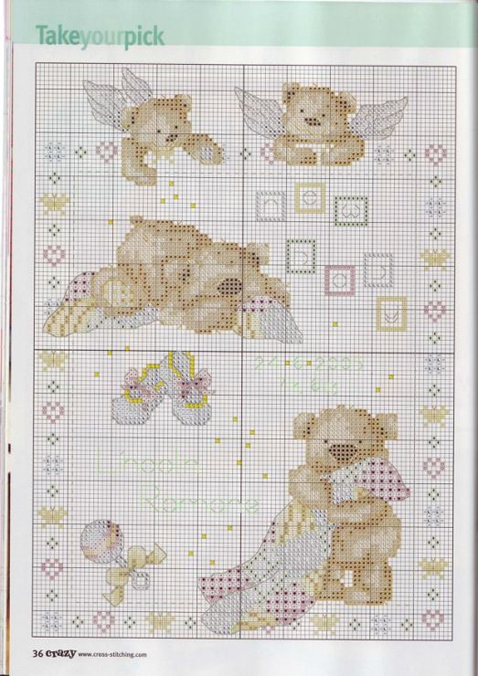 Gallery.ru / Фото #4 - Cross Stitch Crazy 084 апрель 2006 - tymannost